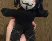 Made to Order - Guy Fawkes Plush Sock Monkey / Rag doll