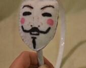 Felt Guy Fawkes Headband
