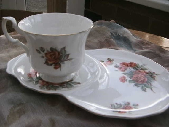 Royal Albert Centennial Rose Cup and Tennis saucer   RESERVED for IT SOH