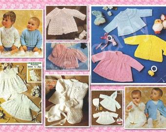 80 plus PATTERNS - Lovely BABY KNITTING Garments