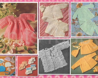 80 plus Adorable BABY CROCHET Patterns - Lovely Garments