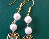 SALE Upcycled Earrings from Vintage Pieces with Free Shipping