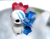 SALE Cute Fat Fish - Cutefish Charms Miniature Polymer Clay Figurine