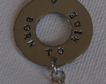 Born To Ride Necklace/Charm