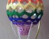 Hot Air Balloon Pattern - Chevron Ripple - ScrappinMagicCrochet