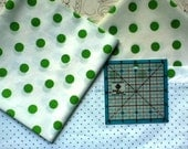 Geen and White Polla Dot Fat Quarter Plus