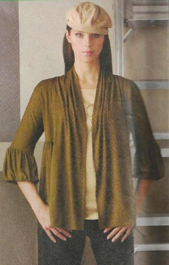 UNCUT Simplicity Cardigan/Shrug Pattern 2560 sizes 8-16