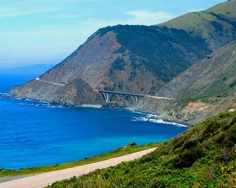 Big Creek Bridge Big Sur, California photo greeting card