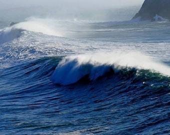 Monster Wave - Big Sur, California Photo Greeting Card