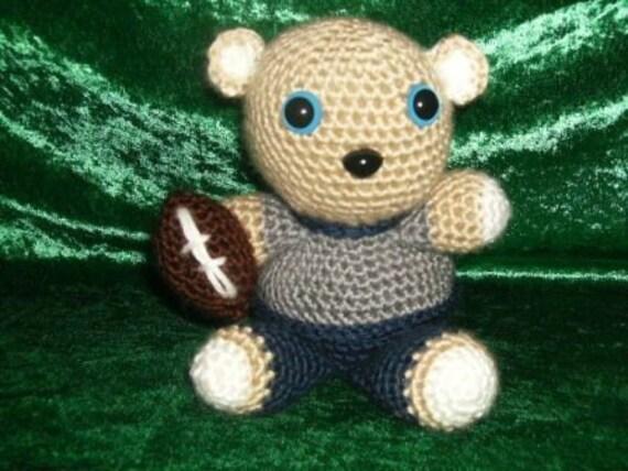 Dallas Cowboy Football Bear