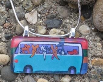 Greyhound Necklace - Bus Ride