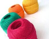 Summer Yarn, Linen Yarn for crochet and knitting, linen thread, Choose ONE ball