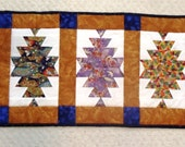 Quilted Chinese Lantern Table Runner