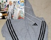 counterfeit DISMAGAZINE counterfeit ADIDAS hooded sweatshirt for men and women in all sizes (The Secret Adidas)