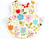 Milbo's cotton bib in 'Sunshine'