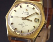 Vintage Zodiac Spacetronic Date,Electronic Men's Watch, RARE C1971