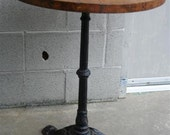 Iron Bistro Table