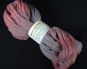 Dusk - Handpainted Laceweight Yarn