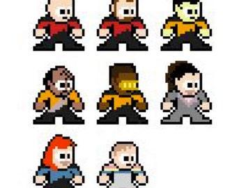 Star Trek The Next Generation - Cross-stitch Pattern