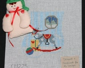 Stocking Ornament Kit with Toy - Elf CM275