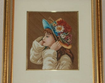 Young Girl in Hat