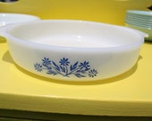 Vintage Pie Plate white Fire King