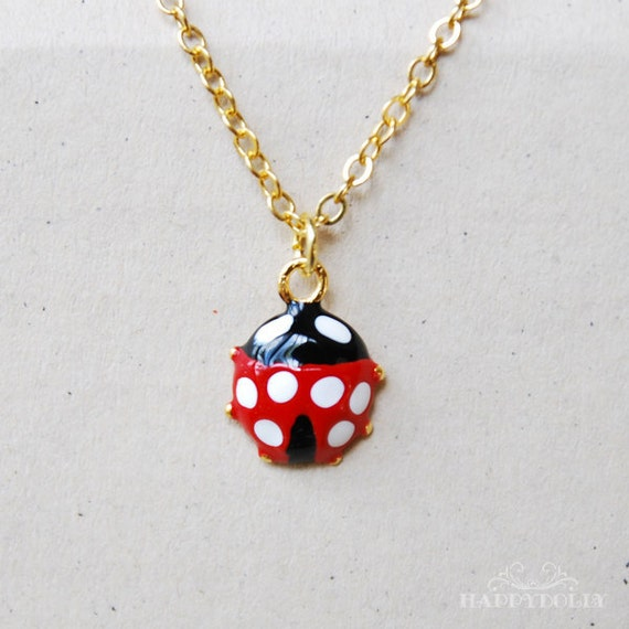 Ladybug Necklace for MSD/SD