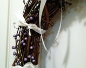 Purple Berry Wreath- Spiritual Fulfilment