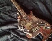 The Vagrant - Custom Steampunk Guitar