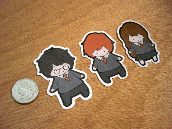 Harry Potter Stickers - Set of 15