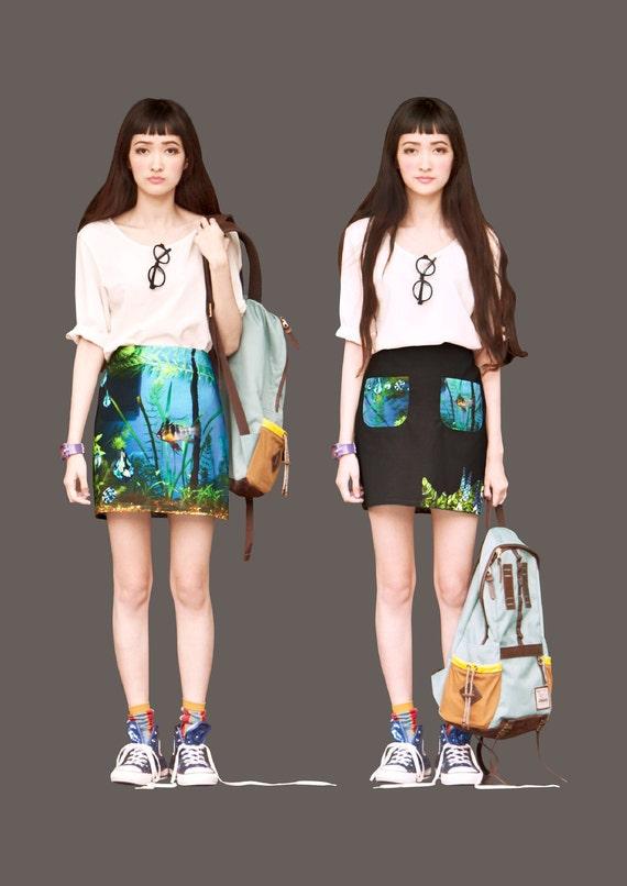 FABITORIA digital printed skirt - 10