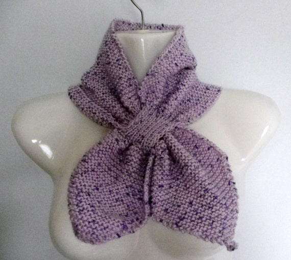 Free Knitting Pattern For Bow Knot Scarf : Unavailable Listing on Etsy
