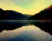 Landscape photography Irish natural wonders Glendalough Ireland Wicklow Mountains Home Decor Print