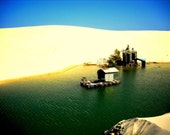Mui Ne Desert Mirage Reservoir, Vietnam
