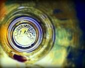 Dublin Ireland Whiskey Photography Irish Picture Print Through the Jameson Glass.