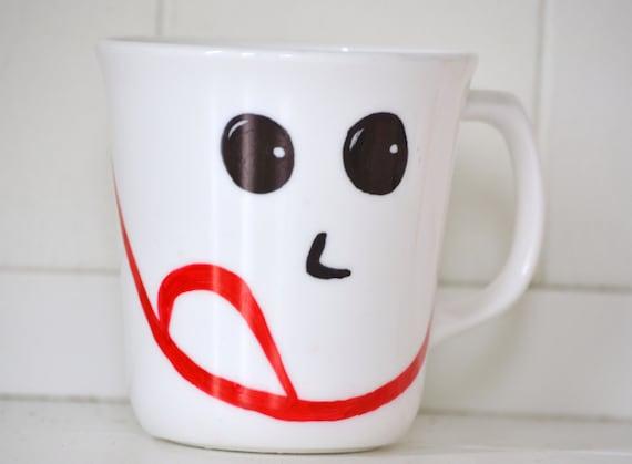Recycled Mug: Happy
