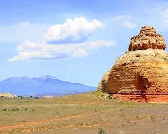 Buddha Rock, Mesa Verde National Park, CO  8x10