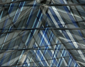 Converge.  Frisco, Texas. Abstract, Blue and Gray Overlay Beams  Industrial Architectural Fine Art Print  8x10