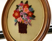 Framed Hand-Embroidery