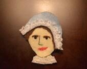 Jane Austen Brooch