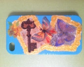 Hand Painted Butterfly Collage iPhone 4/4s Phone Case