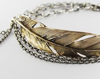 Layla- Feather bracelet