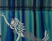 Melted Crayon Art - Mermaid