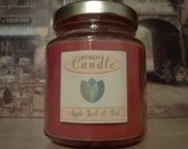 6 oz All-Natural Soy Apple Jack & Peel Scented Candle