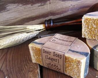 Beer (Lager) Castile - 77% Olive Oil Soap