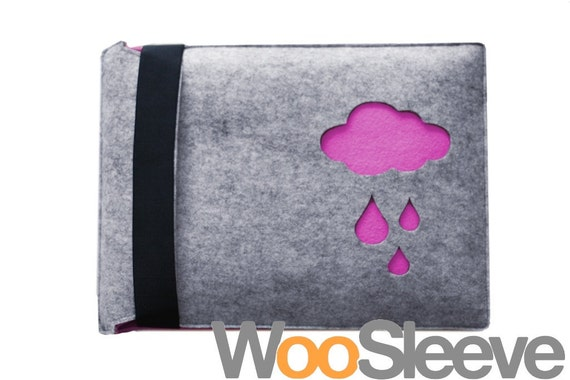 """13"""" inch Apple Macbook Pro / Air Sleeve Case Cover Laptop Sleeve Case Cover -- Pink Cloud"""