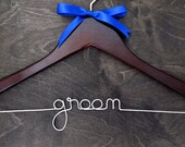 Wedding Hanger - Custom Personalized Bridal - Groom