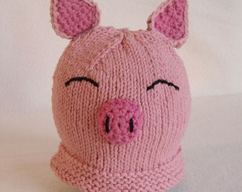 Children's Piggy Hat (AniHat)