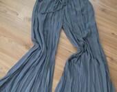 Handmade  Grey  -  Pants - Cotton