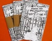 Postal Art T&T - Self-portrait Zine